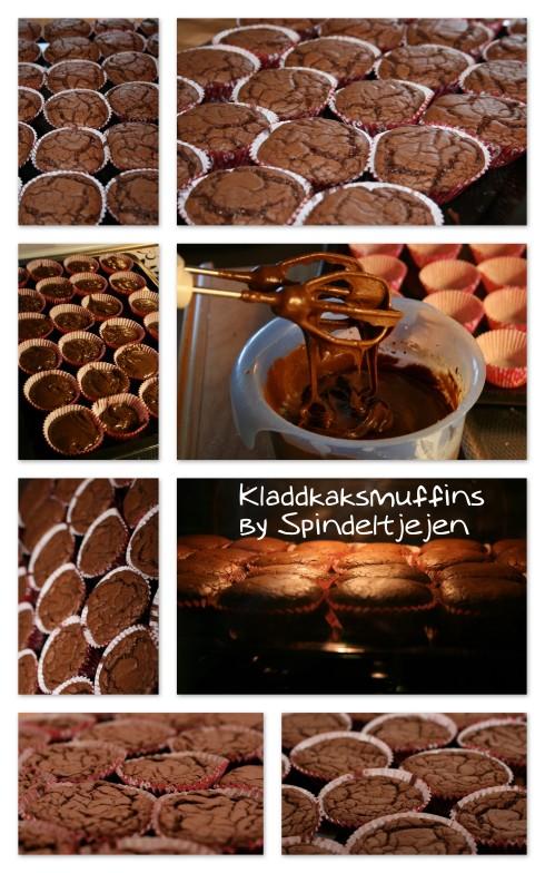 091019 Kladdkaksmuffins by Spindeltjejen